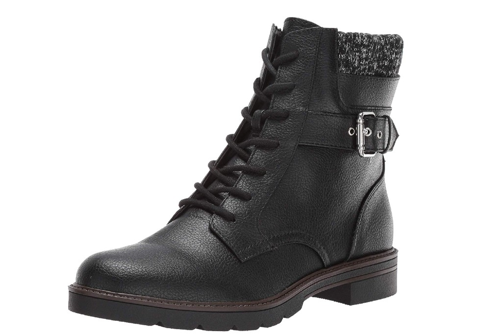 tommy hilfiger women's morten combat boot