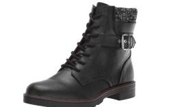 tommy hilfiger women's morten combat boot