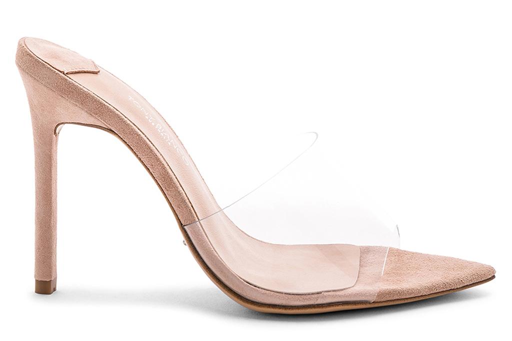Tony Bianco, clear shoes