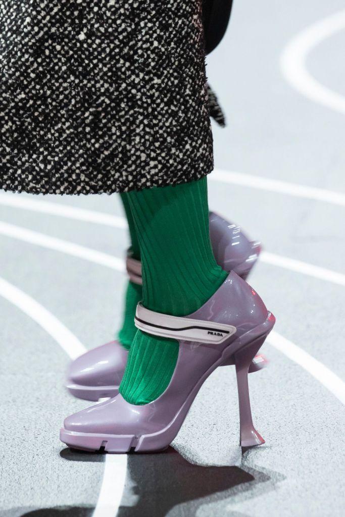 prada, fall 2020, mfw, top 10 shoes