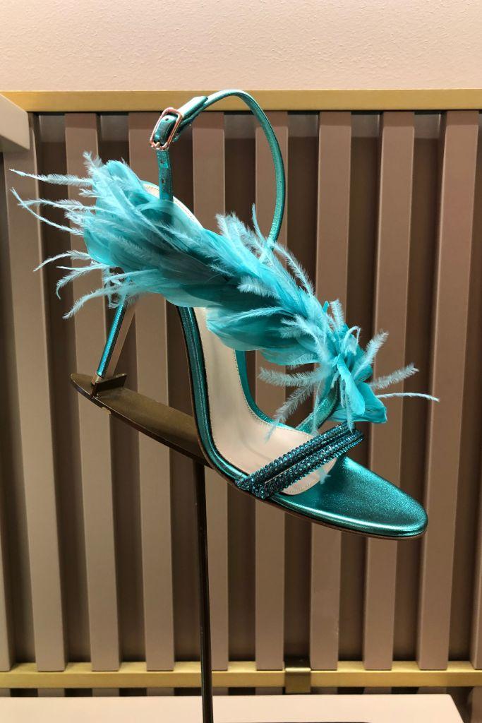 gianvito rossi, fall 2020, milan fashion week
