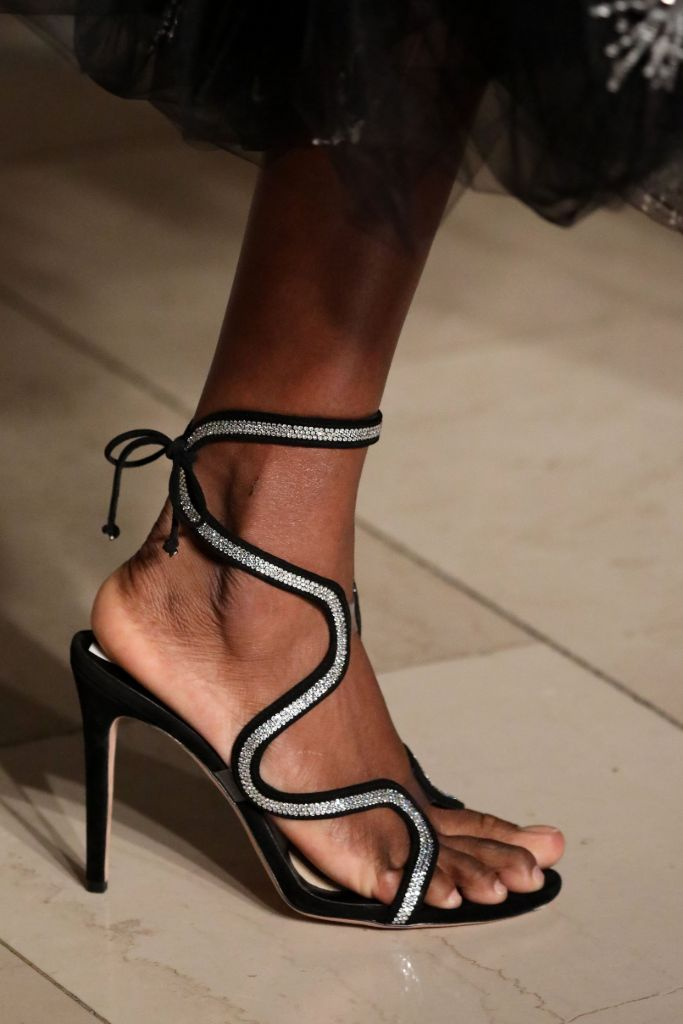 top 10 shoes, nyfw, fall 2020, oscar de la renta