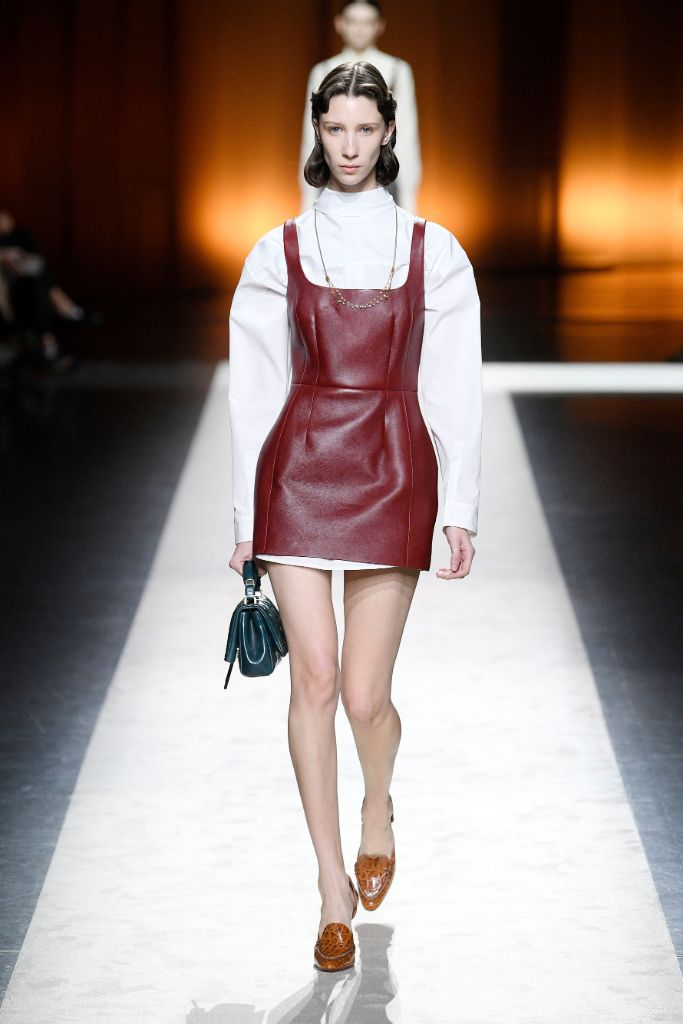 tod's, fall 2020, top trends, milan fashion week