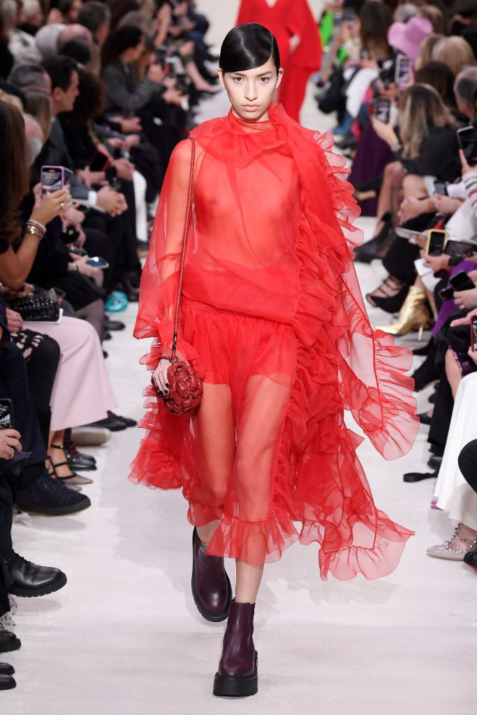 valentino, fall 2020, paris fashion week, top trends