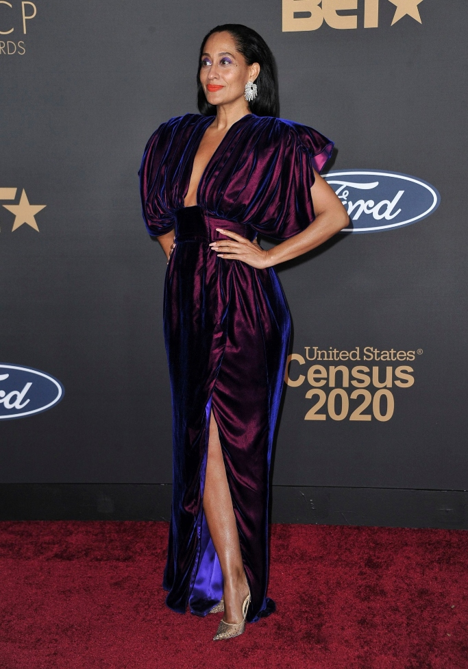 naacp awards red carpet, best dressed, tracee ellis ross, christopher john rogers