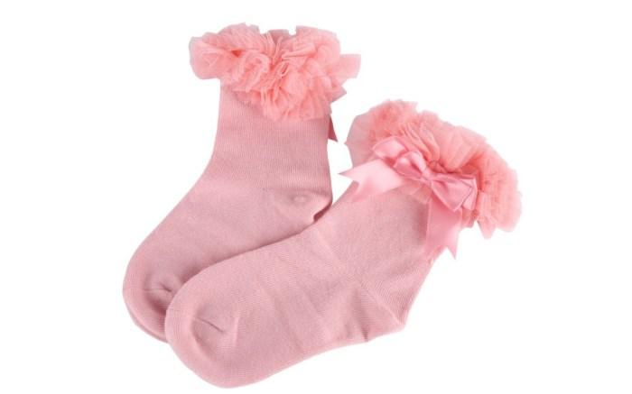 bowknot ruffle socks