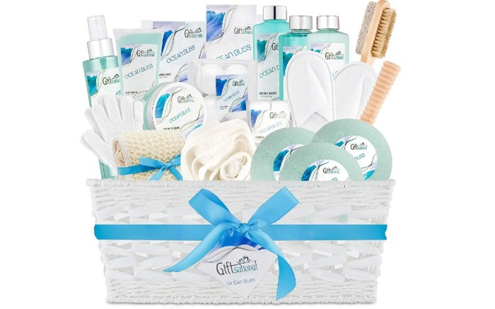 giftsational Ocean Bliss Extra Large Spa Bath Gift Basket