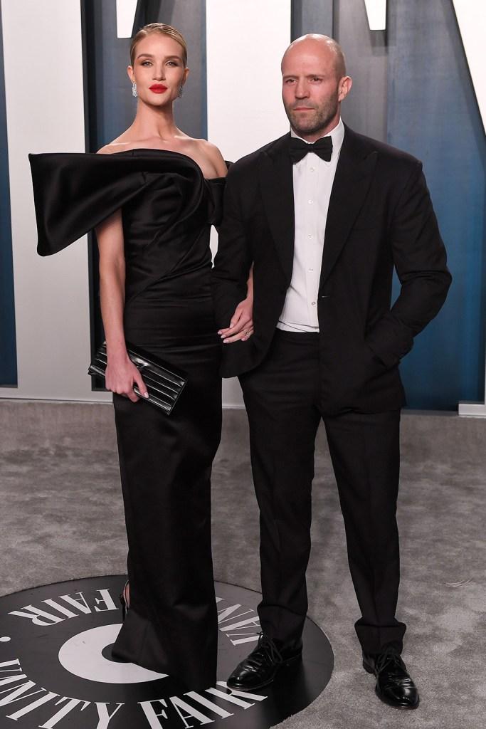 Rosie Huntington-Whiteley and Jason StathamVanity Fair Oscar Party, Arrivals, Los Angeles, USA - 09 Feb 2020