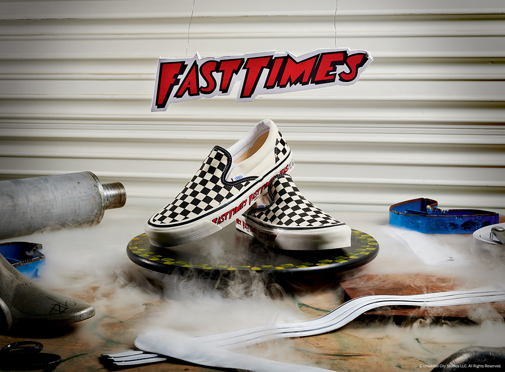Vans Fast Times Checkerboard Slip-On sneakers
