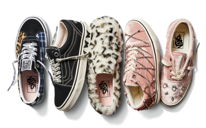 vans, sandy liang, shoes, collab