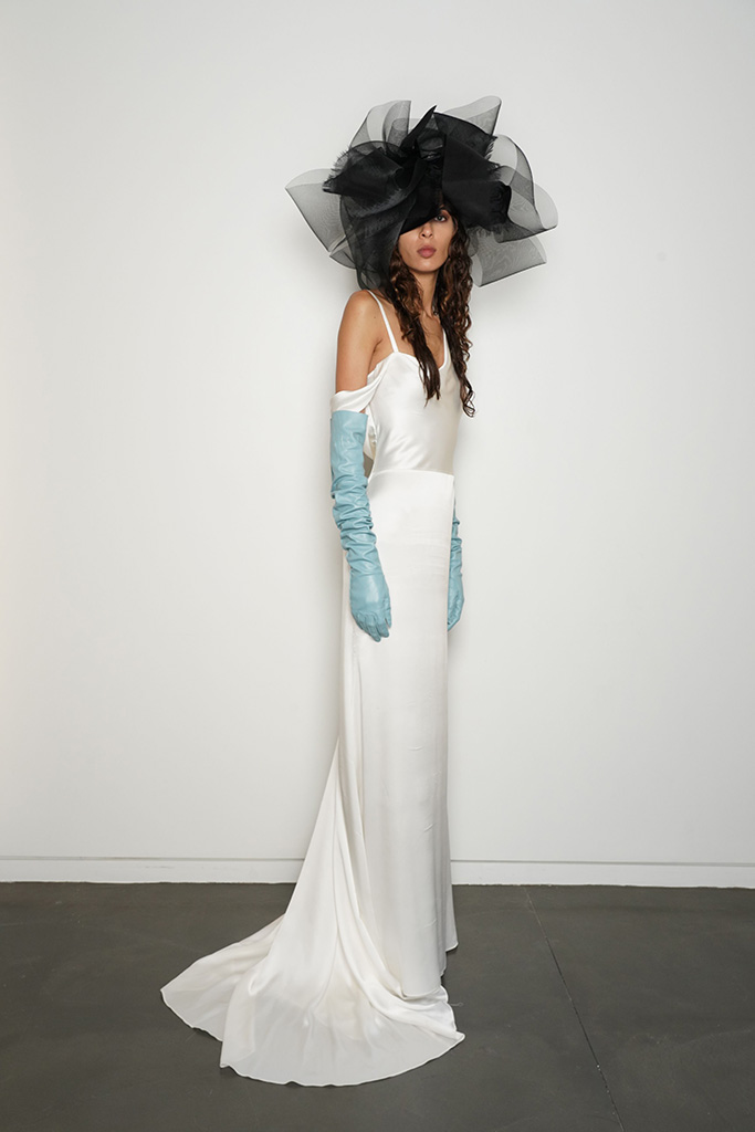 ModelVera Wang Presentation, Fall 2020, New York Bridal Week, USA - 04 Oct 2019