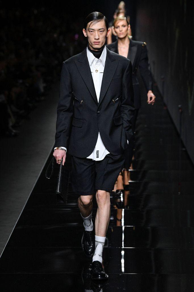 versace, fall 2020, milan fashion week