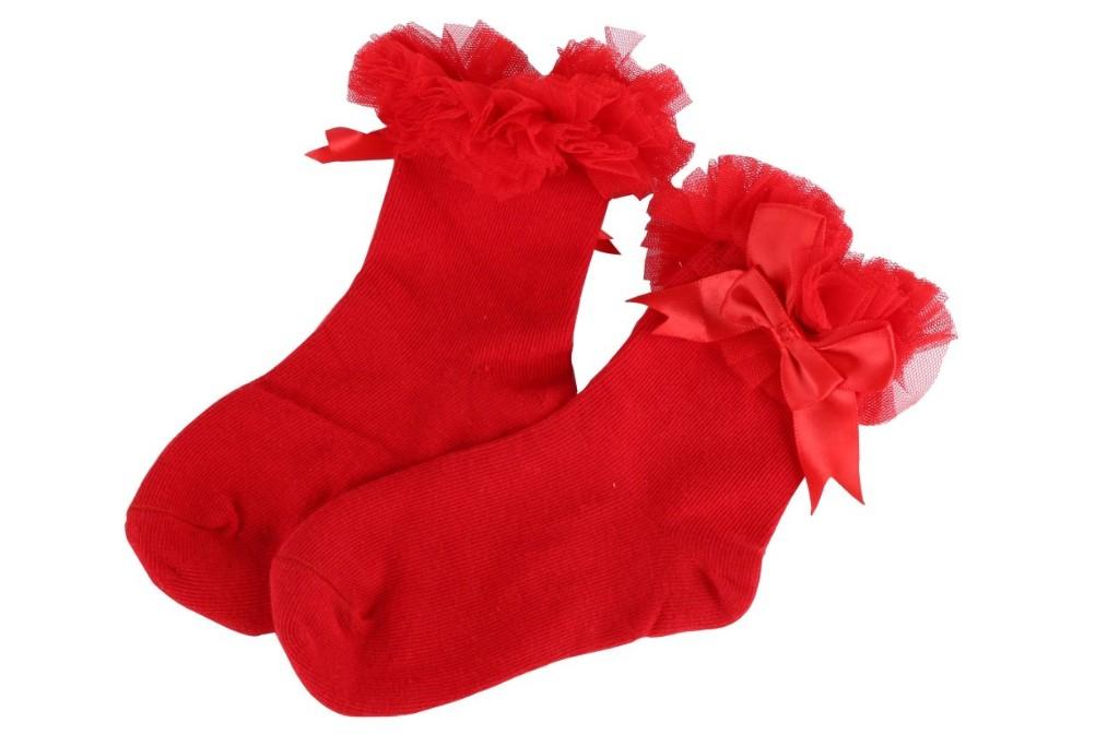 Weixinbuy Ruffle Socks