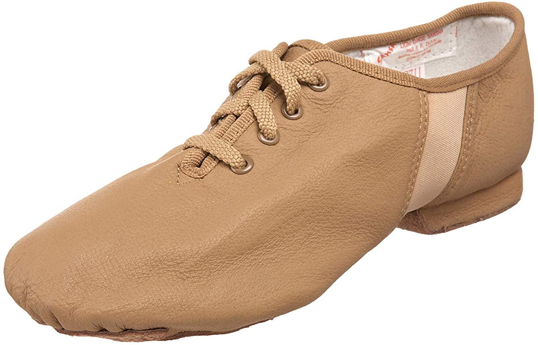 Sansha Tivoli Lace-Up Leather Jazz Shoe, jazz shoes