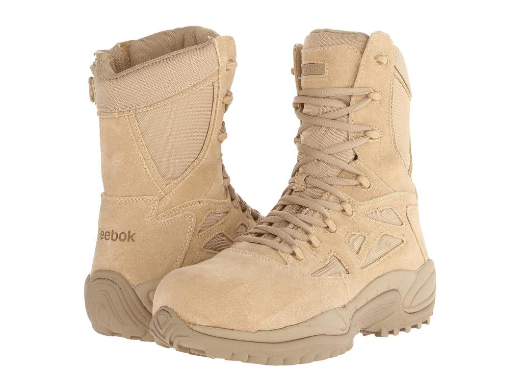 """Reebok Work Rapid Response RB 8"""" CT Boot, men's work boots"""