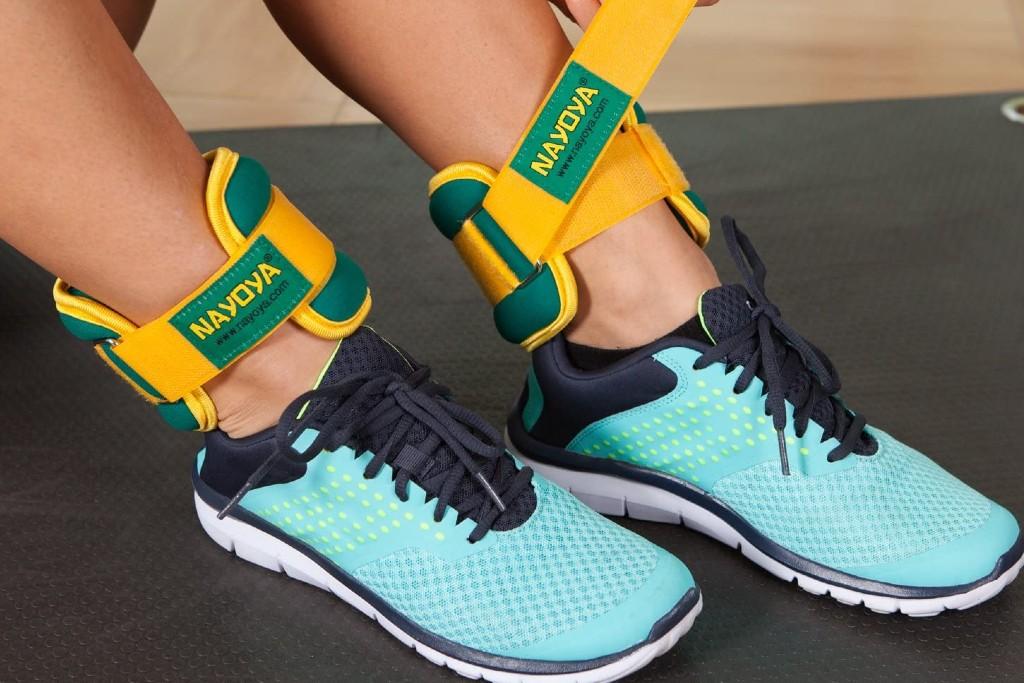 Nayoya 3 Pound Adjustable Ankle Weights