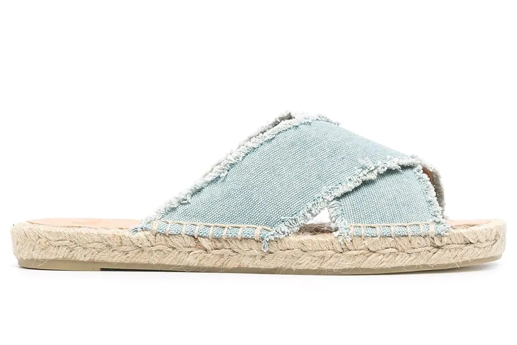 Castañer Palmera Denim Sandals, best spring sandals