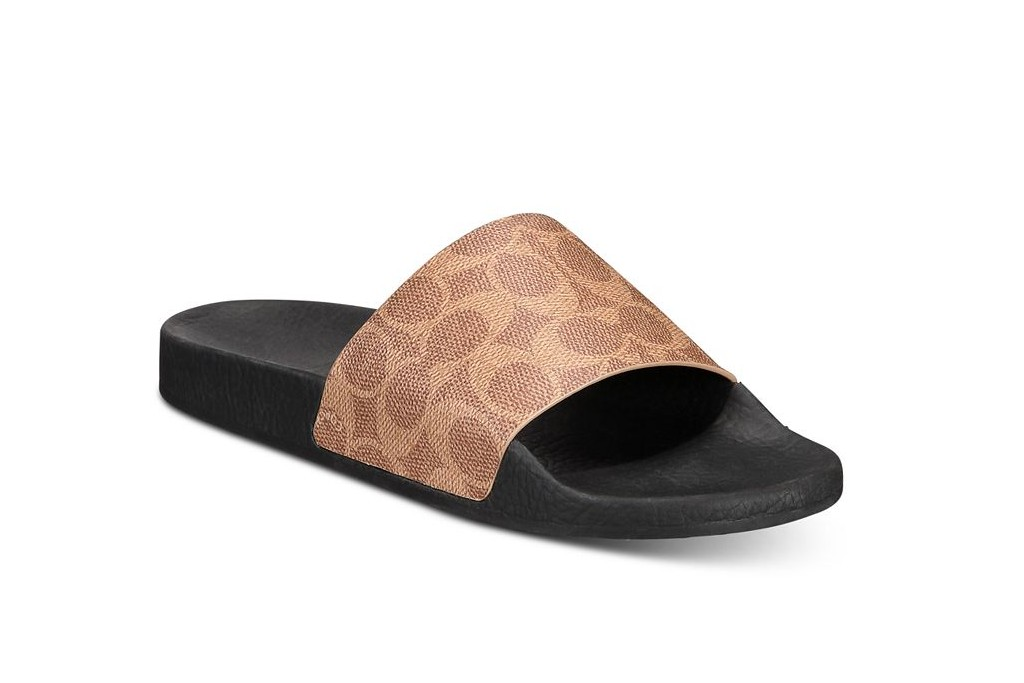Coach Signature PVC Pool Slides, best spring sandals