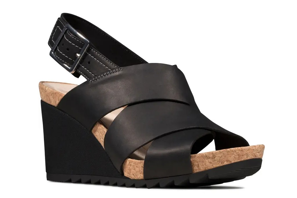 Clarks Flex Platform Wedge Sandal, best spring sandals