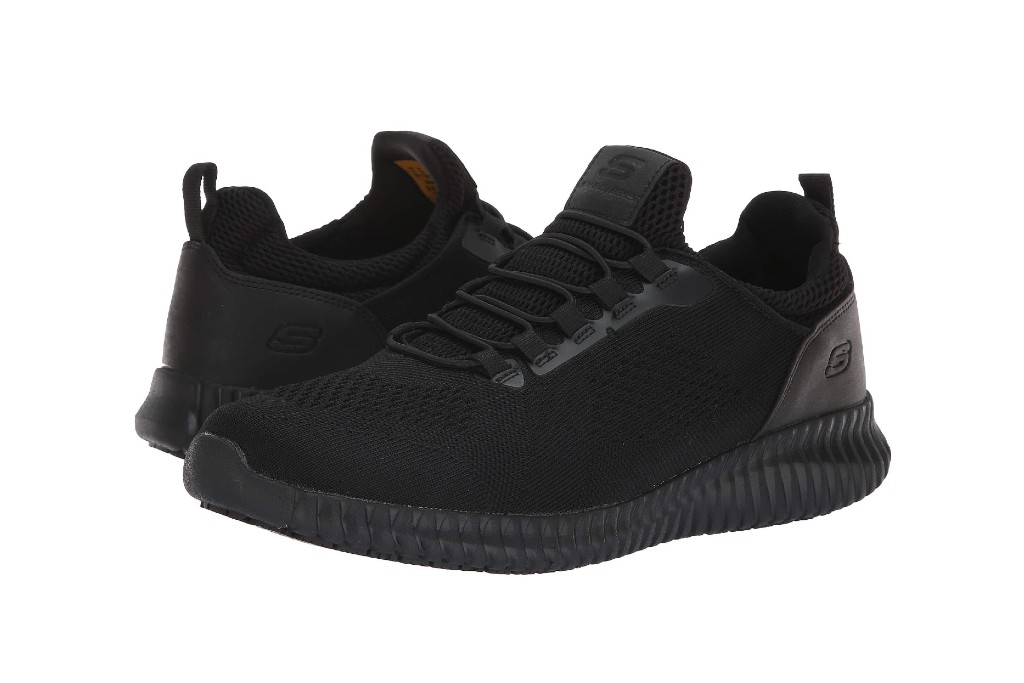 Skechers Work Cessnock Sneaker, best slip-resistant men's shoes