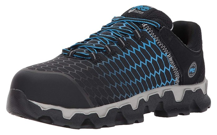 timberland pro Powertrain Sport Alloy Safety Toe Athletic Work Shoe