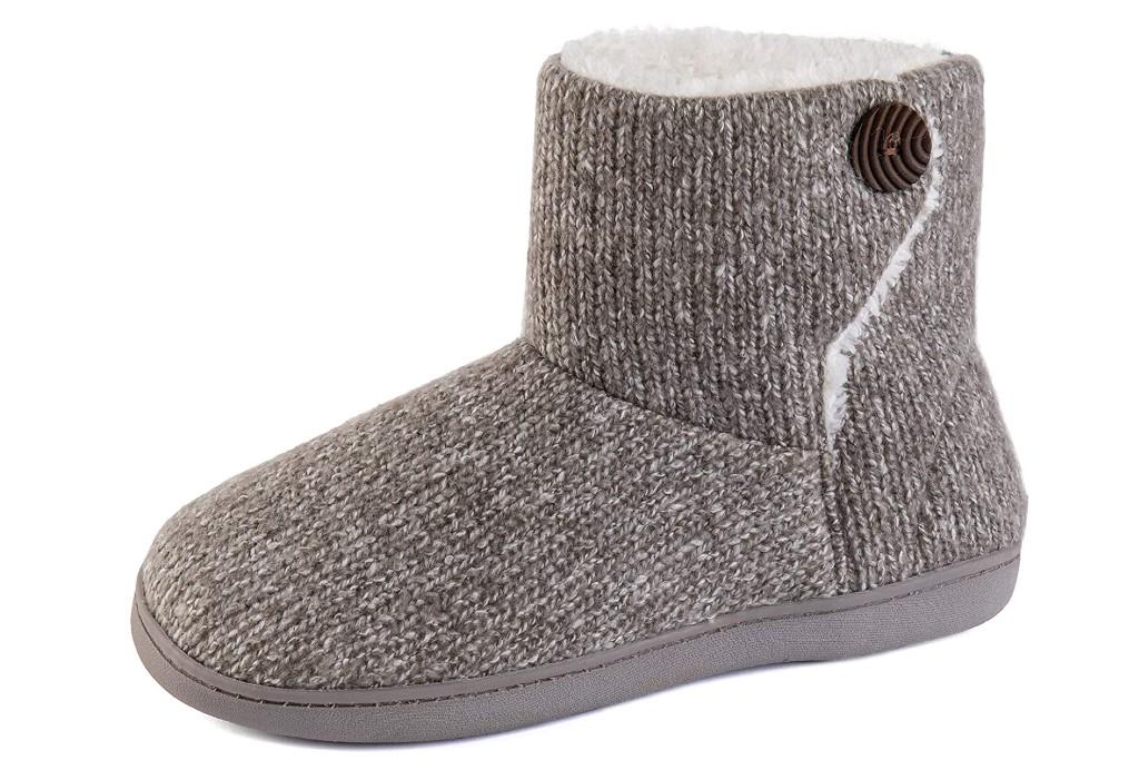 Ultraideas Woven Bootie Slippers, slipper boots for women