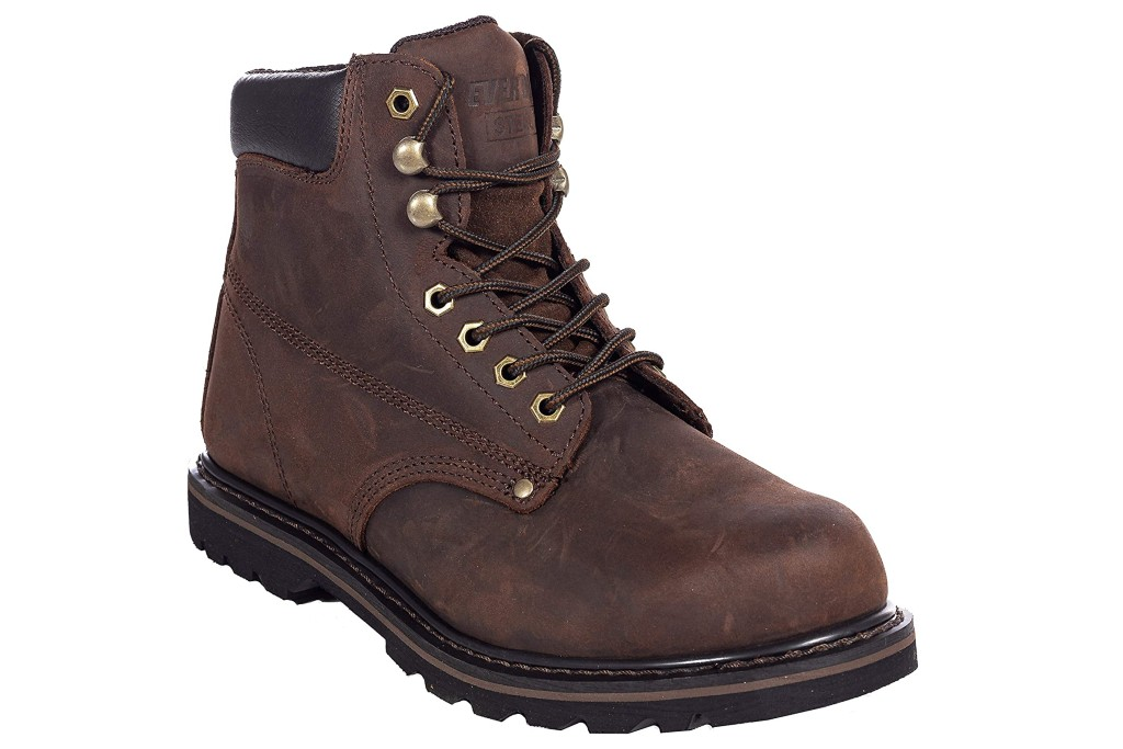 Ever Boots Tank S Steel Toe Safety Work Boot, work boots for men