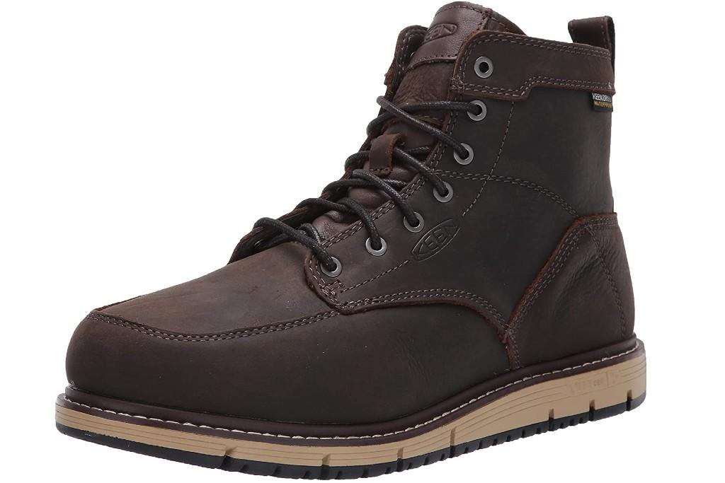 Keen Utility San Jose Aluminum Toe WP Boot, work boots for men