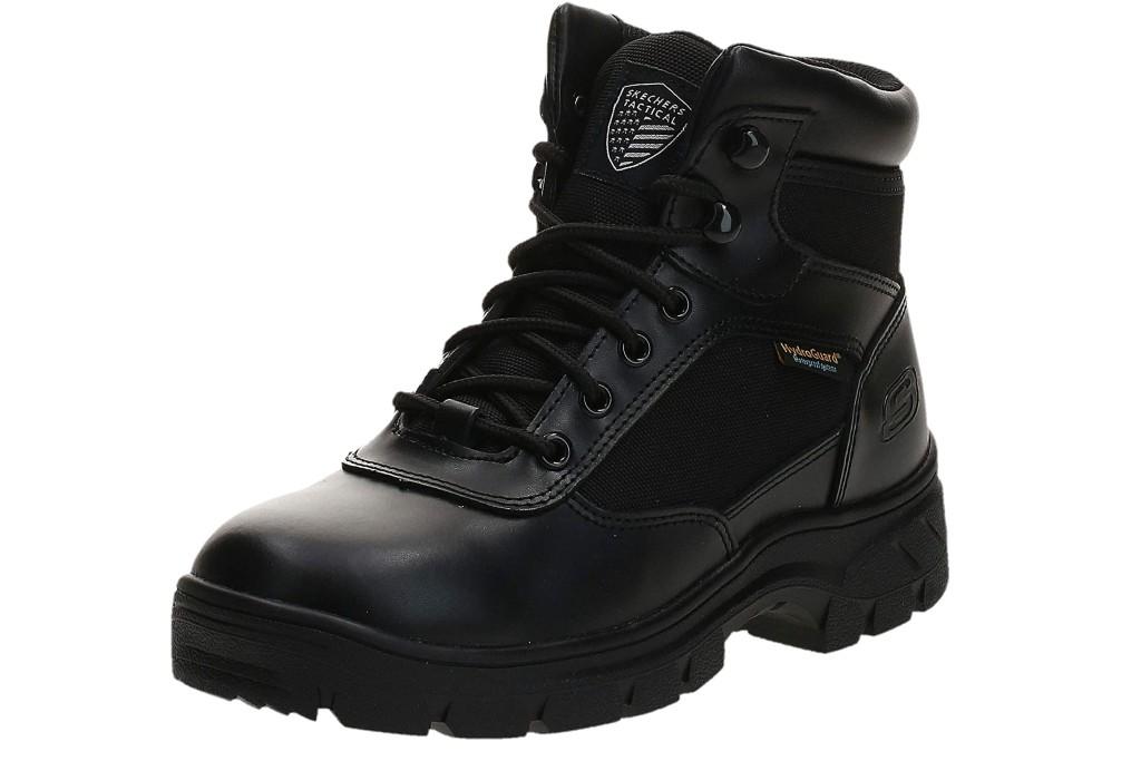 Skechers Men's New Wascana-Benen Military and Tactical Boot, waterproof tactical boots for men