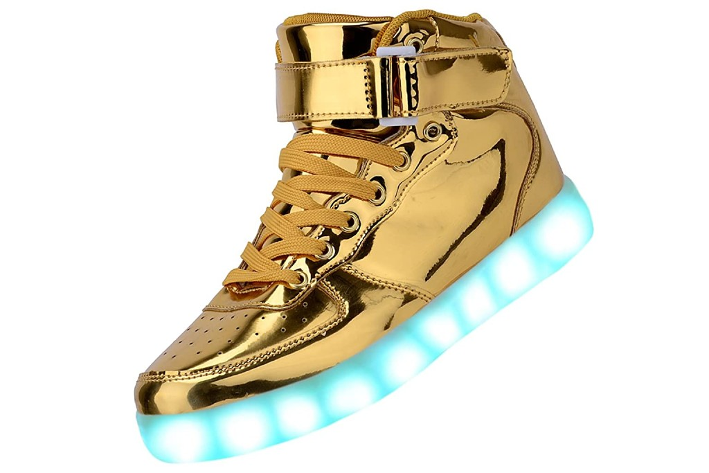 Odema Unisex LED Shoes, light up shoes for adults