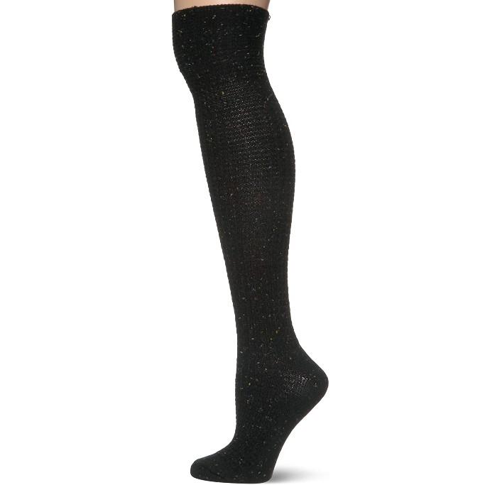 Hue Over the Knee Socks, knit boot socks