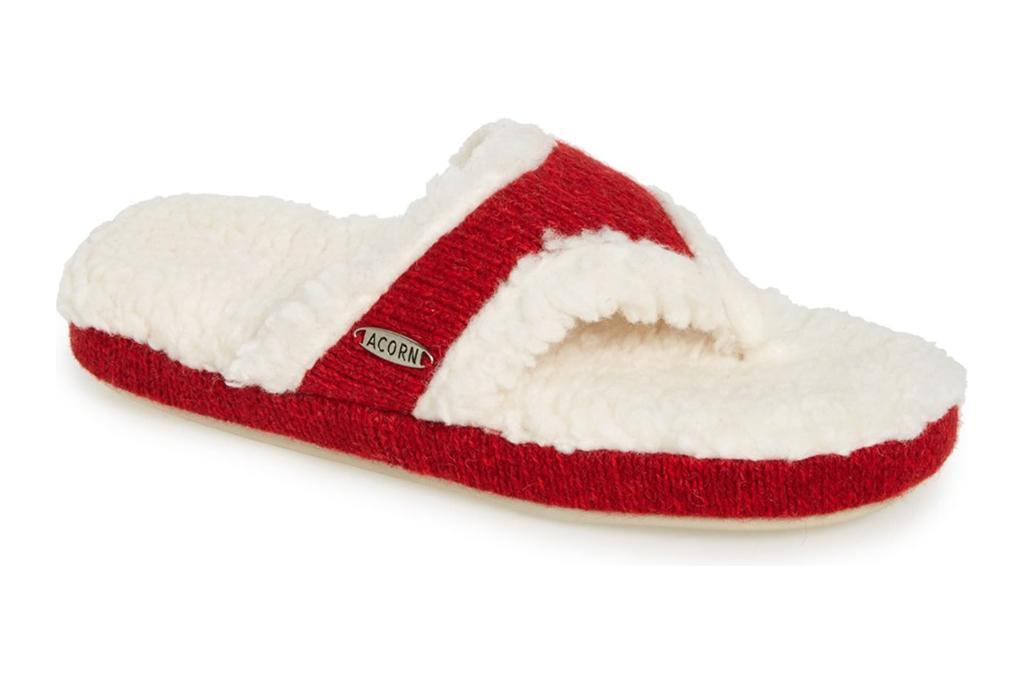 acorn, slippers