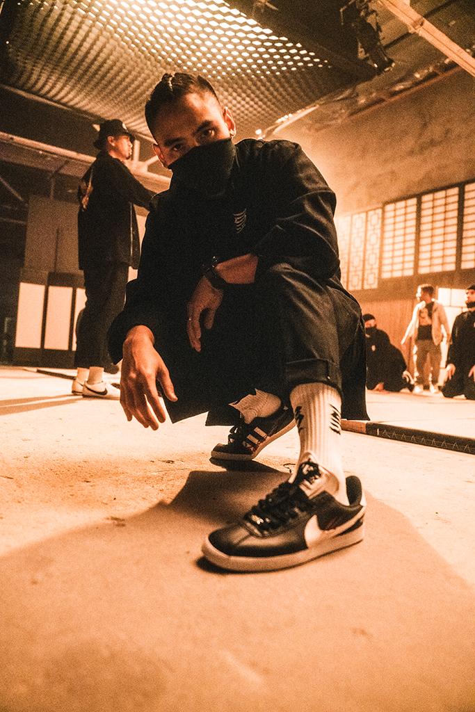 Kinjaz CHPTR-3 Gabriel Gonzalez Adidas Gazelle Nike Cortez custom Justin Bieber Take it Out on Me