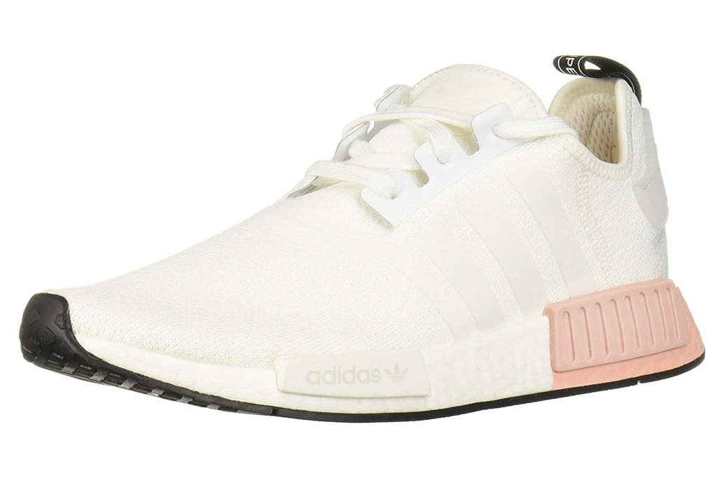 adidas sneakers, pink, white, mens