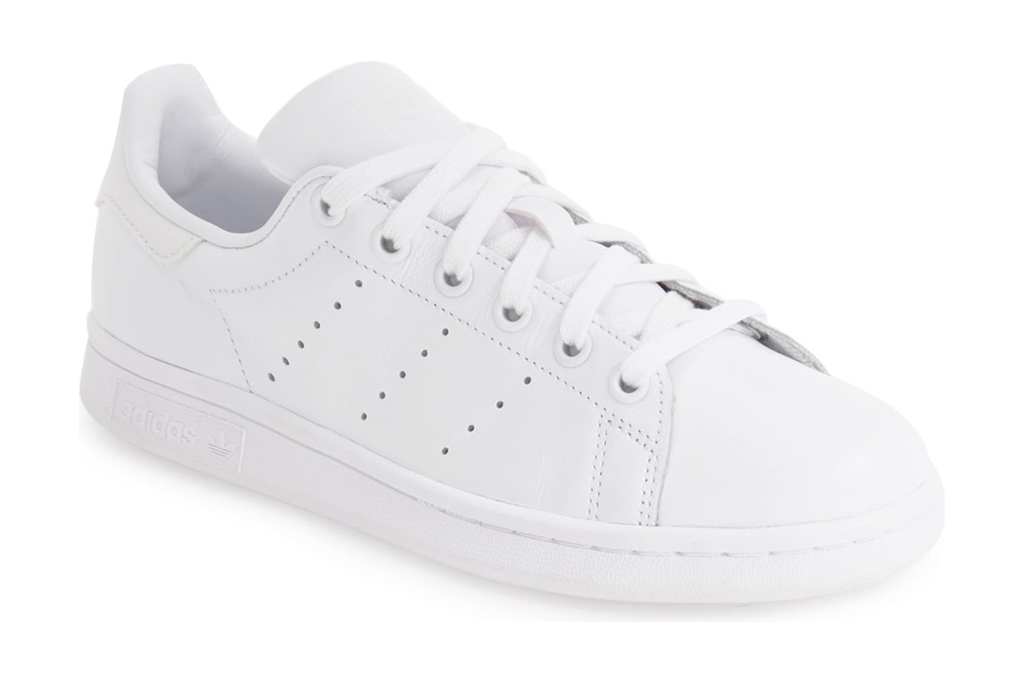 adidas sneakers, stan smith, all white