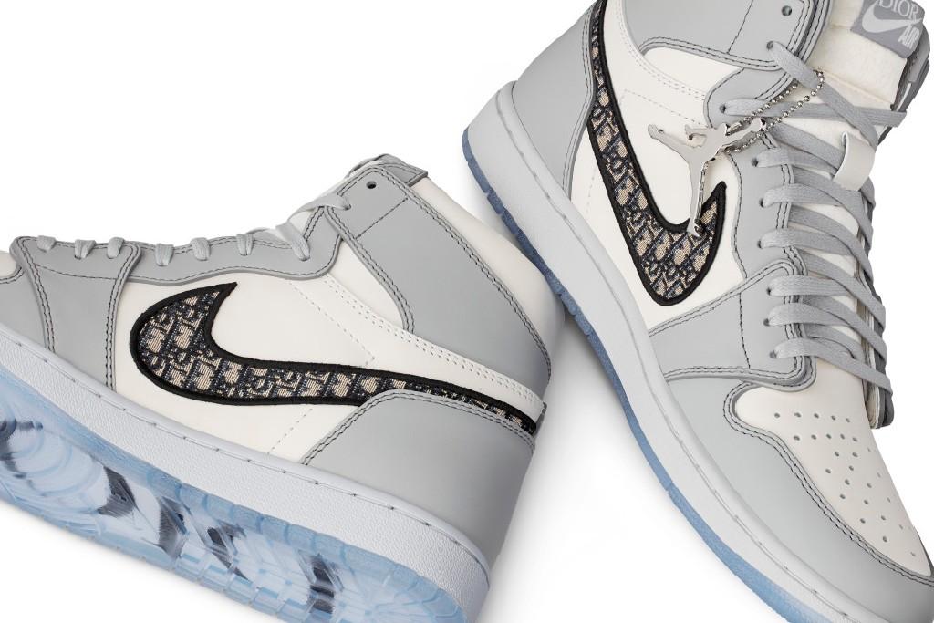 The Dior x Air Jordan 1 High Collaboration.
