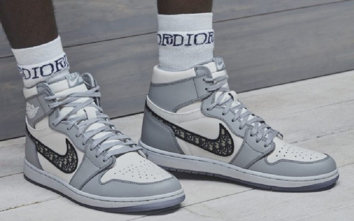 The Dior x Air Jordan 1 High Collaboration