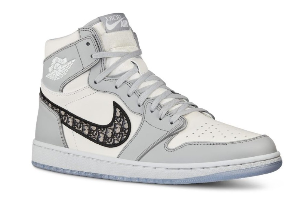 Dior x Air Jordan 1 High Collaboration.