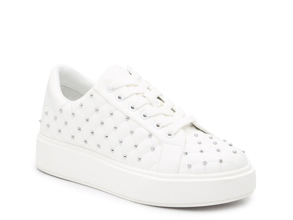 jlo jennifer lopez, studded sneakers