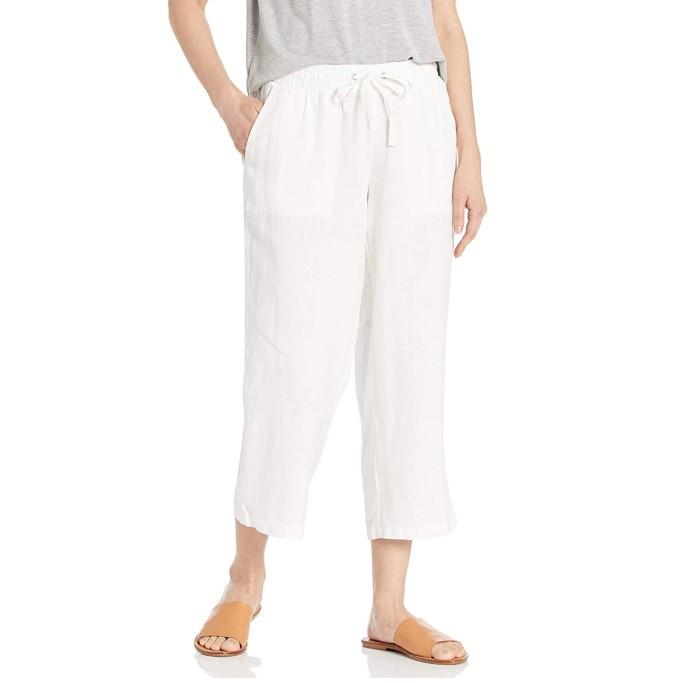 Amazon Essentials Cropped Linen Pant