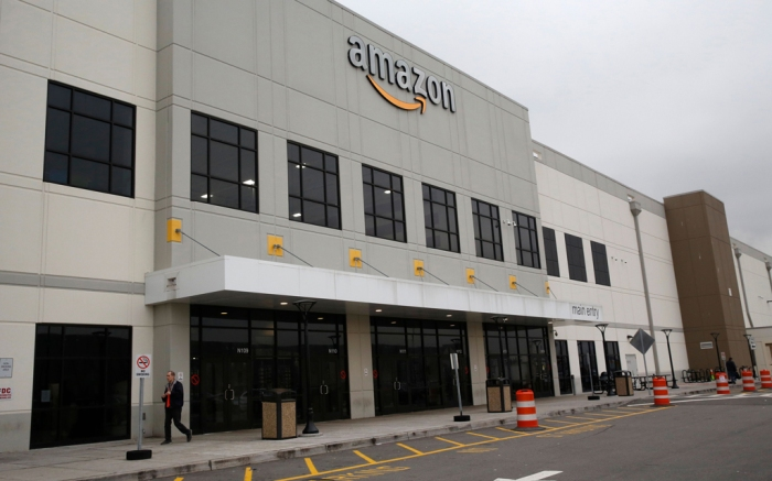Amazon, fulfillment center, staten island, ny