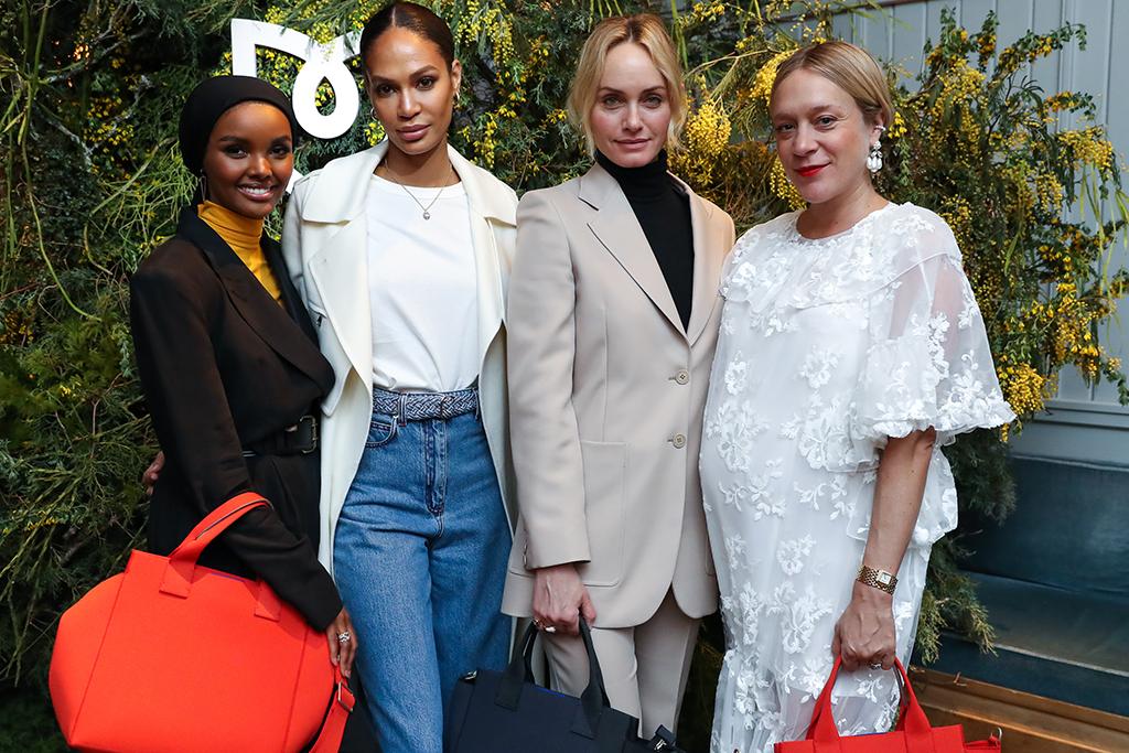 Halima Aden, Joan Smalls, Amber Valletta, Chloe Sevigny