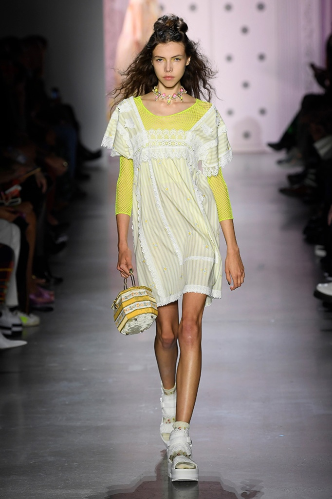 Anna Sui, Spring '20, socks and sandals trend, teva and socks