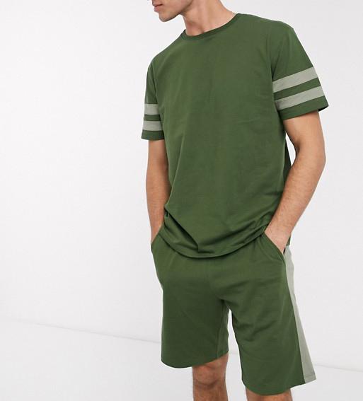 asos, t-shirt, shorts, set