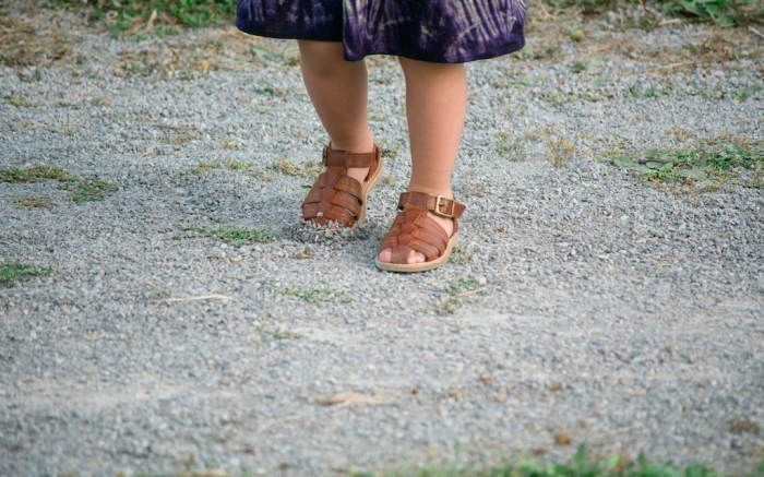 Feet Shoes Girl Sandals Walking; Shutterstock ID 1583768149; Usage (Print, Web, Both): Web; Issue Date: 2/3