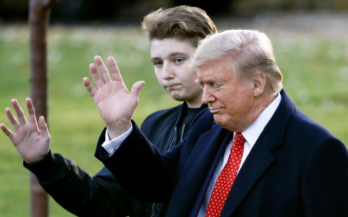 barron, trump, barron trump, donald trump, son
