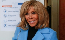 Brigitte Macron, paris, france, celebrity style