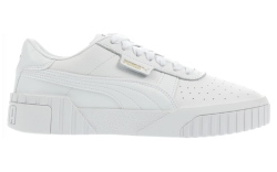 puma, white, cali, sneakers