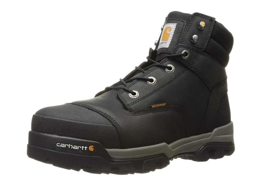 carhartt ground force waterproof work boot