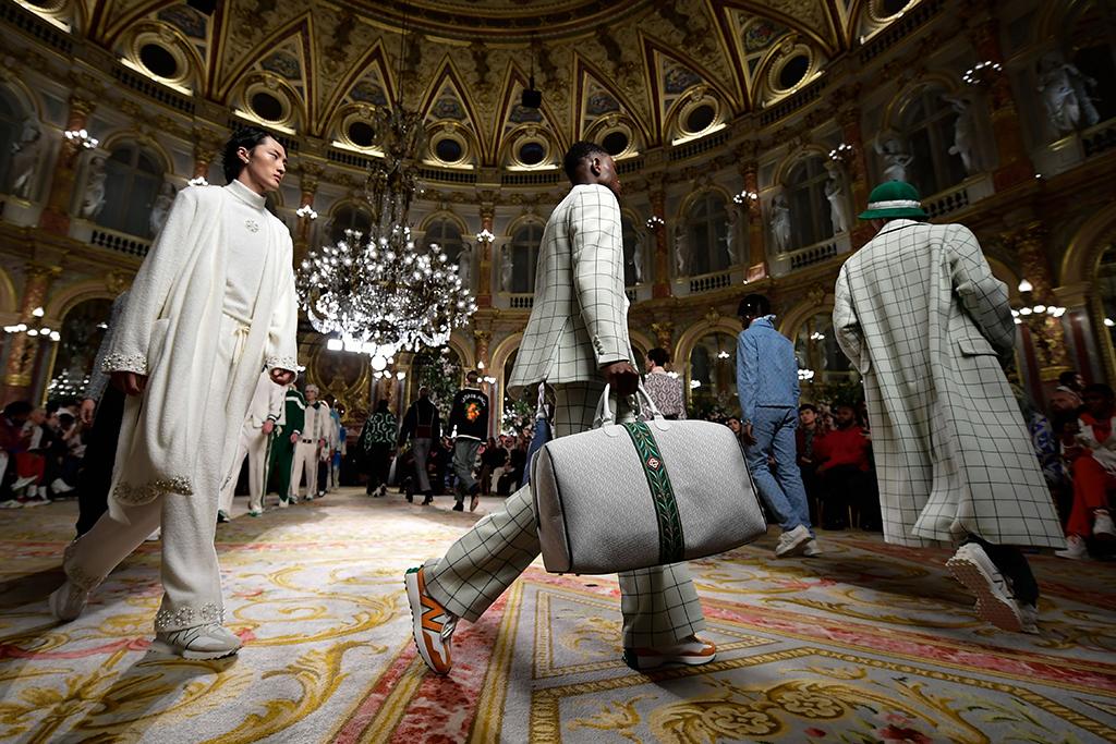 Casablanca x New Balance 327 Paris Fashion Week